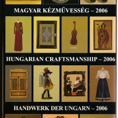 2006_Magyar Kézművesség 2006 - Mezőgazdasági múzeum - BudapestKonyv2006_01