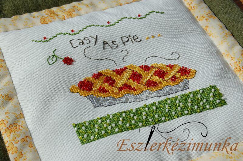 Debbie Mum keresztszemes Mill Hill gyöngyökkel Easy as Pie