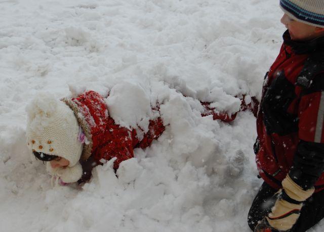 Panna a hóban