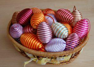 Húsvéti tojások hungarocellből