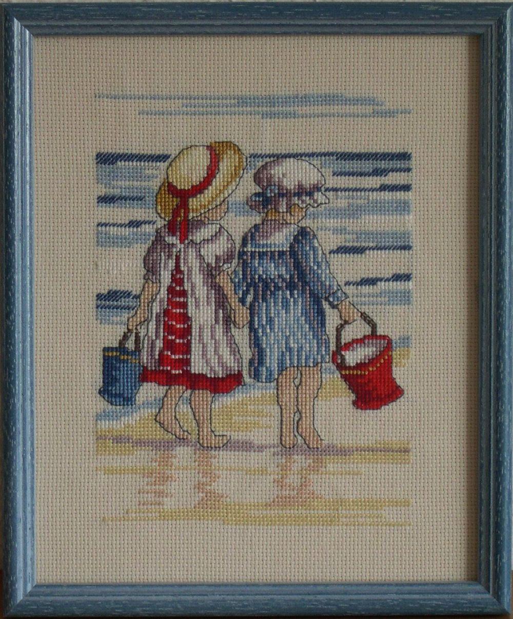 All Our Yesterdays - A tengerparton - keresztszemes kép