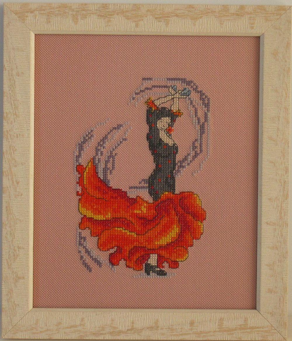 Táncosok - keresztszemes