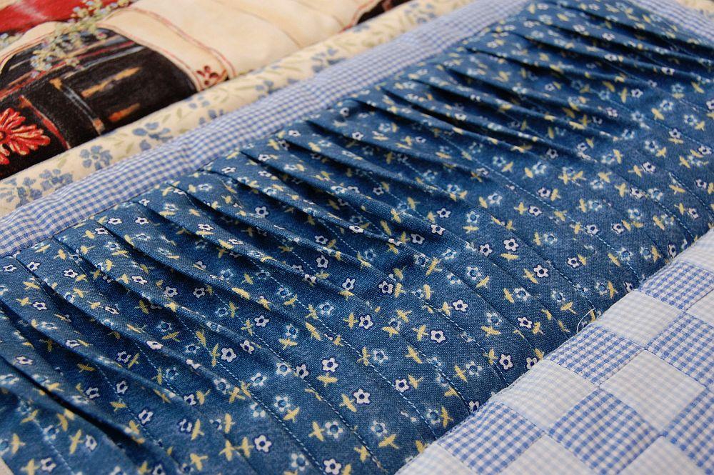 Konyhai variációk 2 - kék - foltvarrás