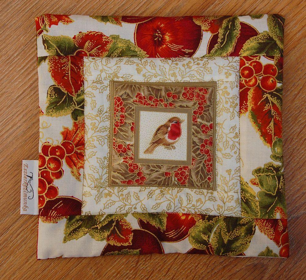Karácsonyi kis képecske - egy és három ablakos madaras