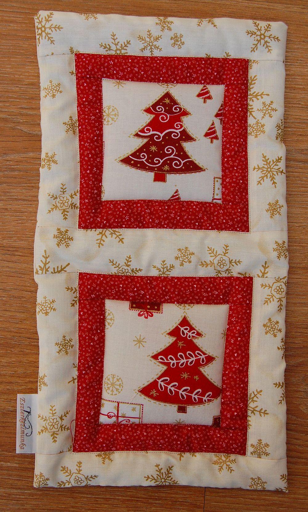 Karácsonyi kis képecske - egy és két ablakos fenyőfás