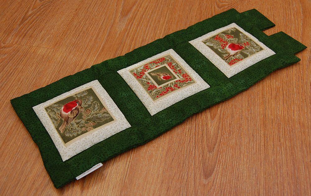 Karácsonyi kis képecske - három ablakos zöld
