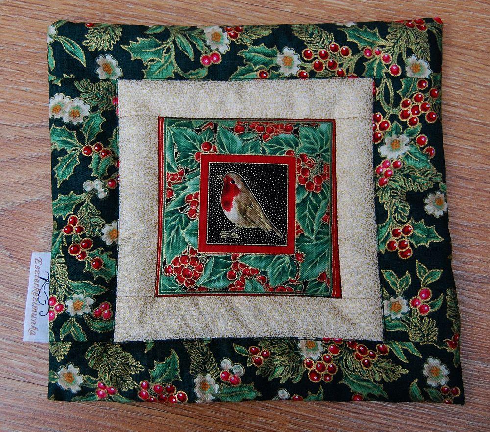 Karácsonyi kis képecske - egy és két ablakos zöld