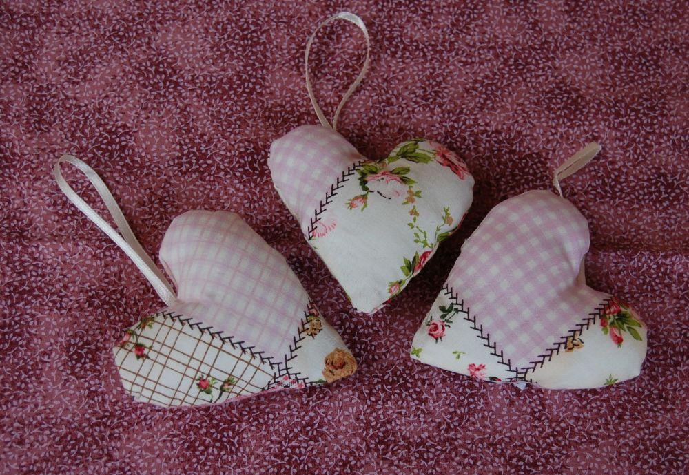 Szívek - rózsaszín